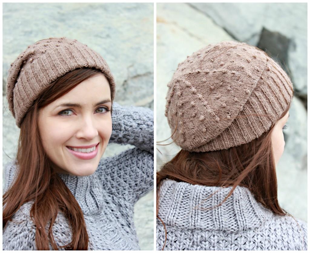 Diode Hat | www.knittedbliss.com