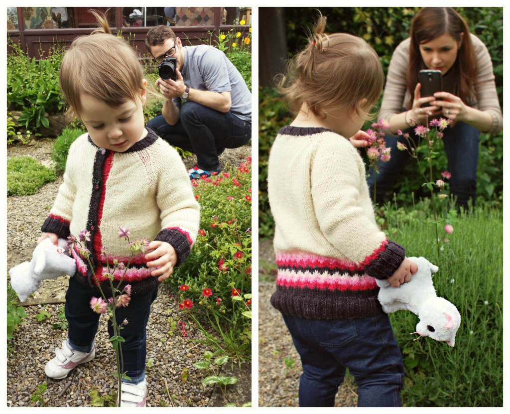 Coolbreeze Toddler Cardigan | knittedbliss.com