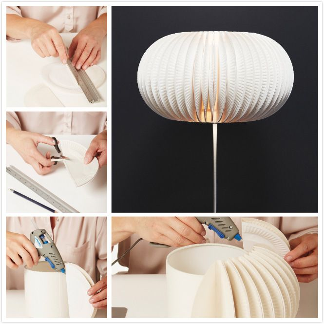 Pin Ups: Lampshade upgrade| knittedbliss.com