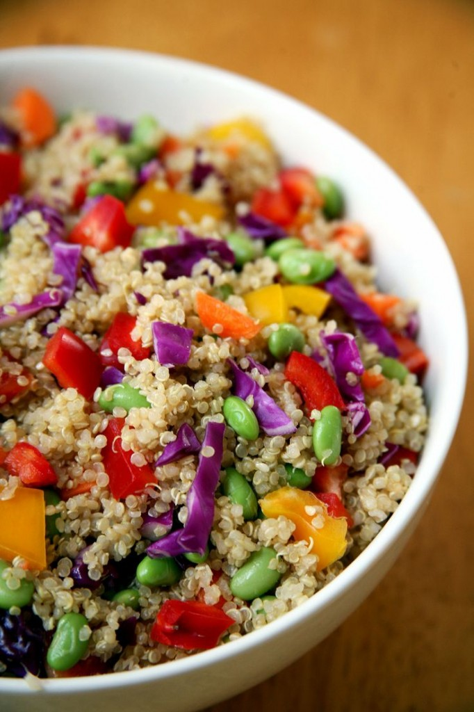 Pin Ups: Quinoa Salad | knittedbliss.com