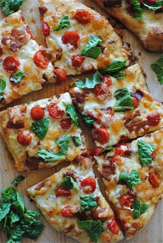 Pin Ups: BLT pizza | knittedbliss.com