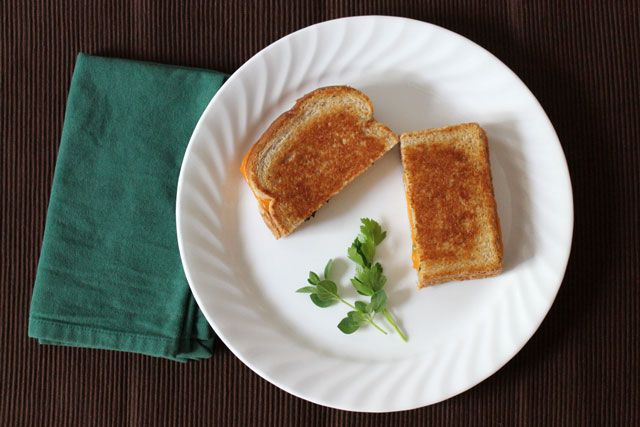 Pin Ups: Herbed grilled cheese| knittedbliss.com