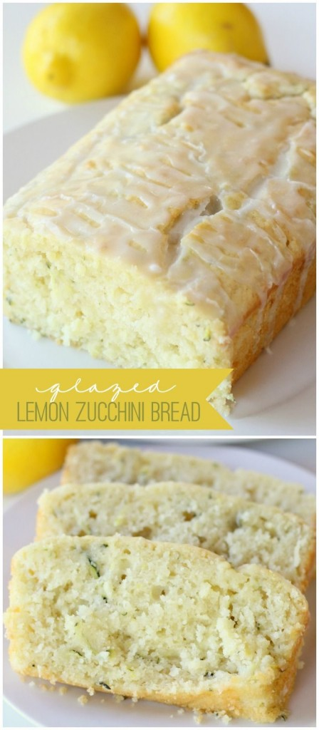 Pin Ups: Lemon and Zucchini Loaf | knittedbliss.com