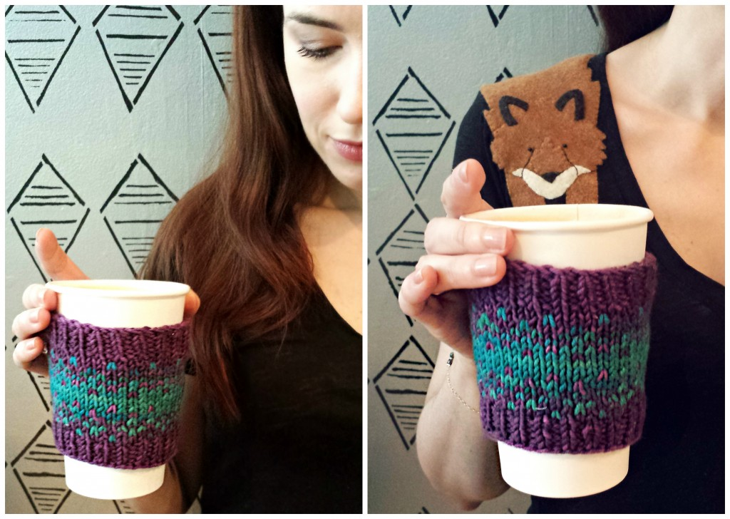 Coffee Sleeve | knittedbliss.com