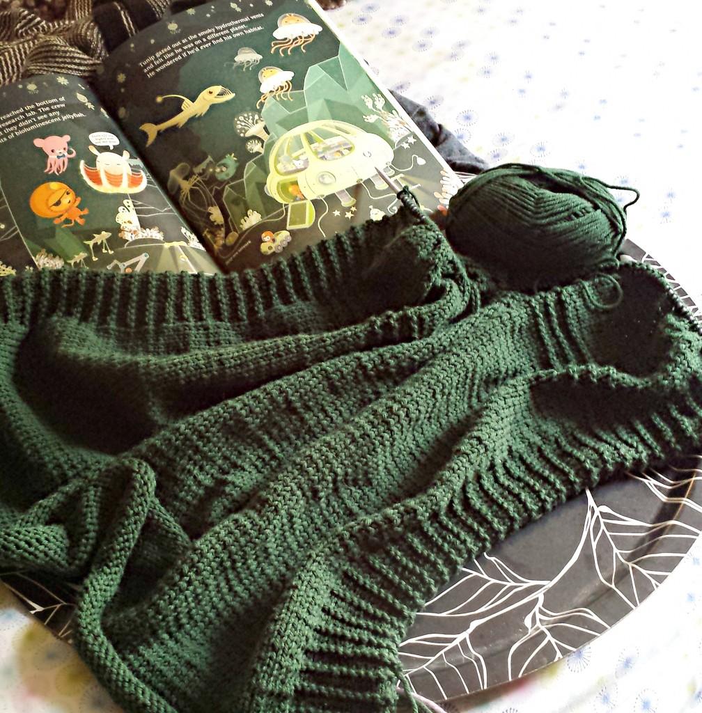 WIP: Fold & Turn| knittedbliss.com