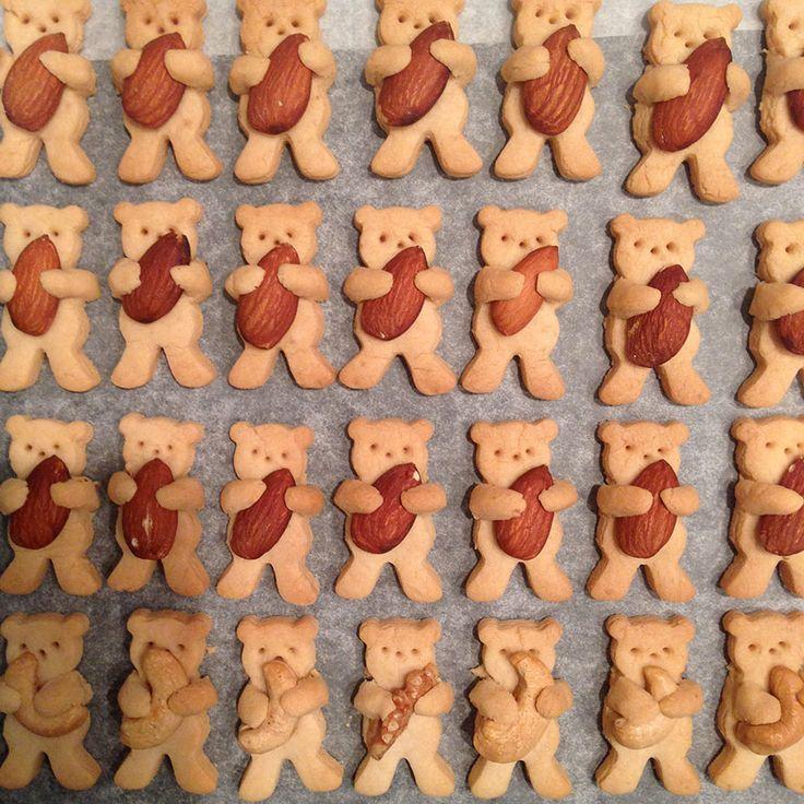 PIn Ups: Bear Cookies| knittedbliss.com
