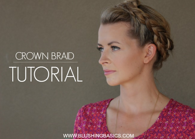 Pin Ups: Easy Crown Braids | knittedbliss.com