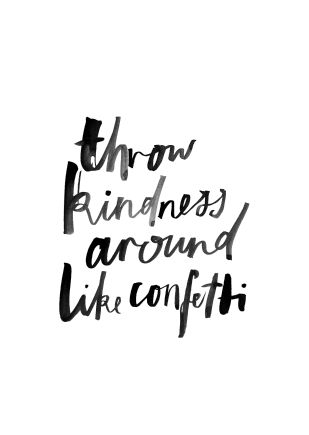 Pin Ups: Kindness | knittedbliss.com