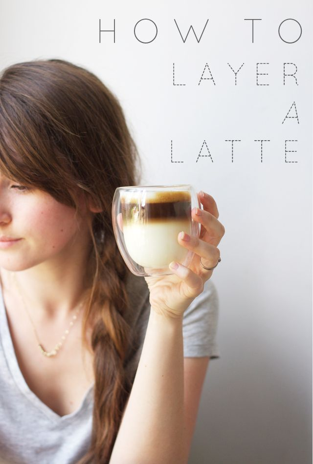 Pin Ups: How to Layer a Latte| knittedbliss.com