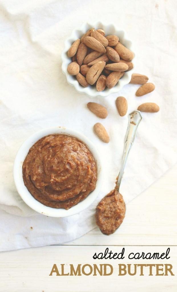 Pin Ups: Salted Caramel Almond Butter | knittedbliss.com