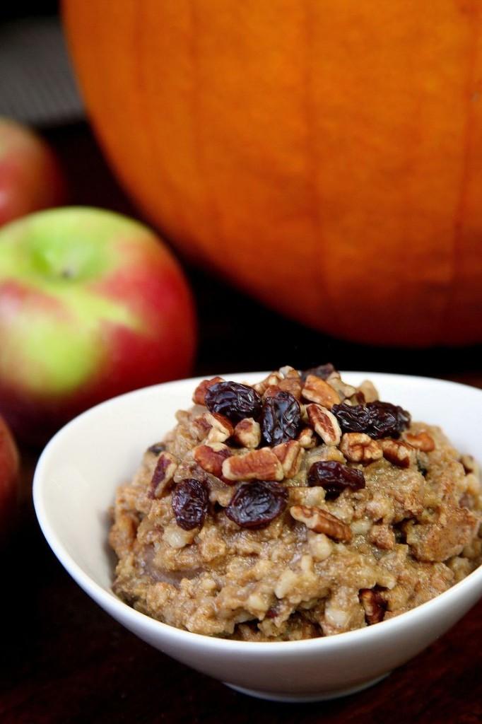 Pin Ups: Slow Cooker Pumpkin Oatmeal | knittedbliss.com
