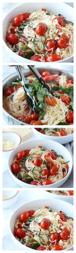 Pin Ups: Easy Angel Hair Pasta| knittedbliss.com