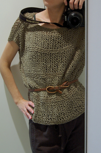 Modification Monday: Wisp Top | knittedbliss.com