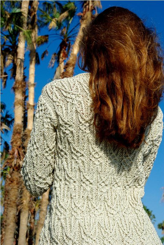 Modification Monday: Textured Jacket | knittedbliss.com