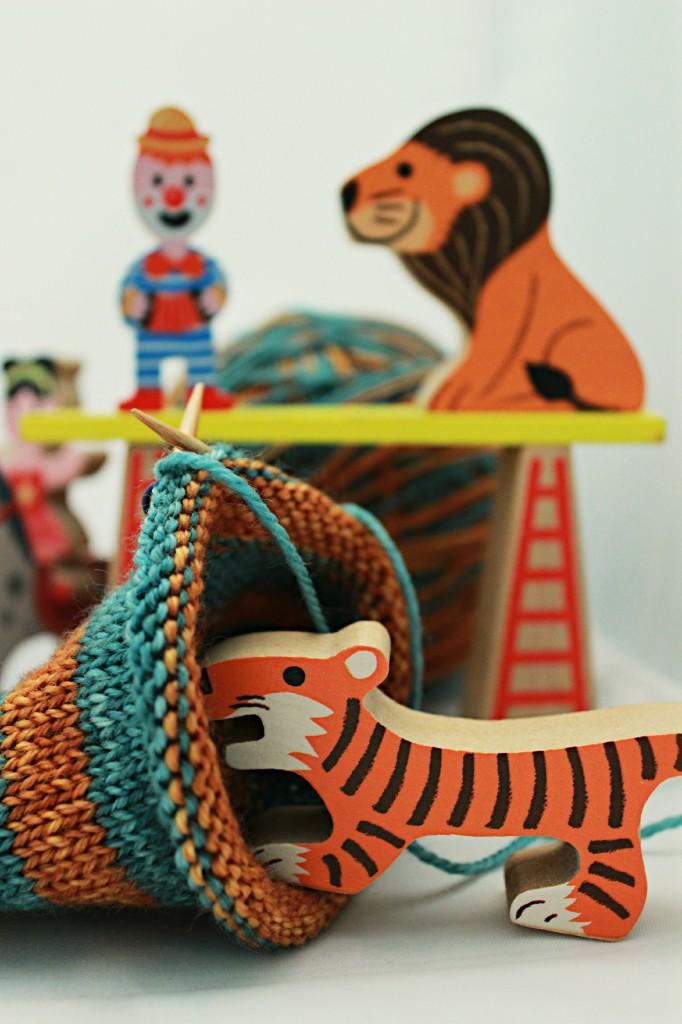 Sock Circus Close Up