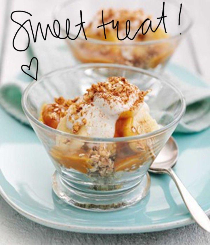 Pin Ups: Banoffee Oat Dessert Recipe | knittedbliss.com
