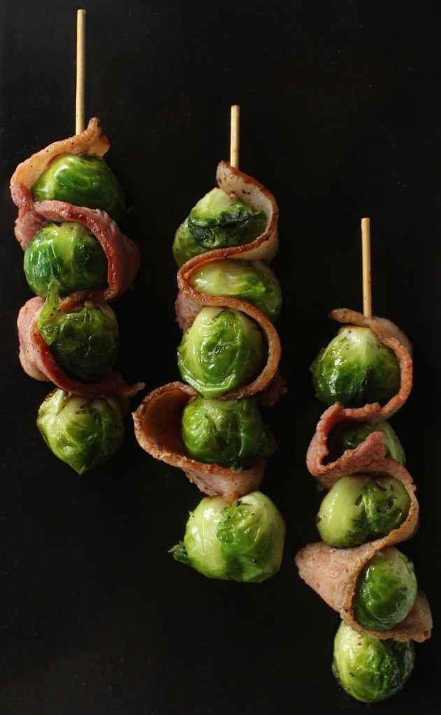Pin Ups: brussel sprouts and bacon | knittedbliss.com