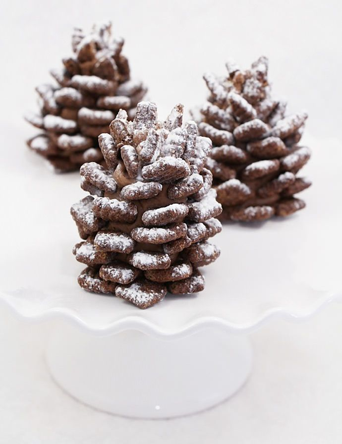 Pin Ups: Pinecone cookies | knittedbliss.com