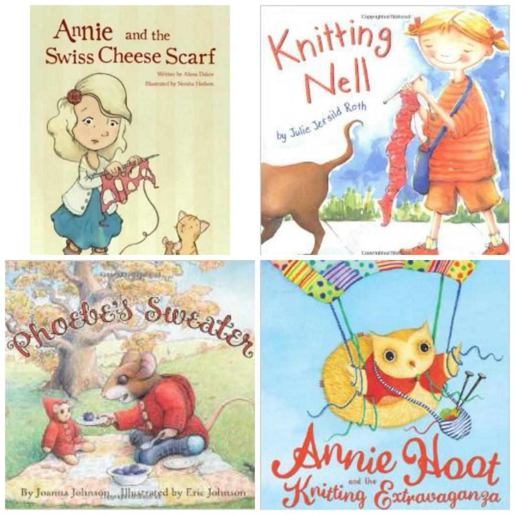 Knitting Themed Books for Kids: ages 4-6| knittedbliss.com