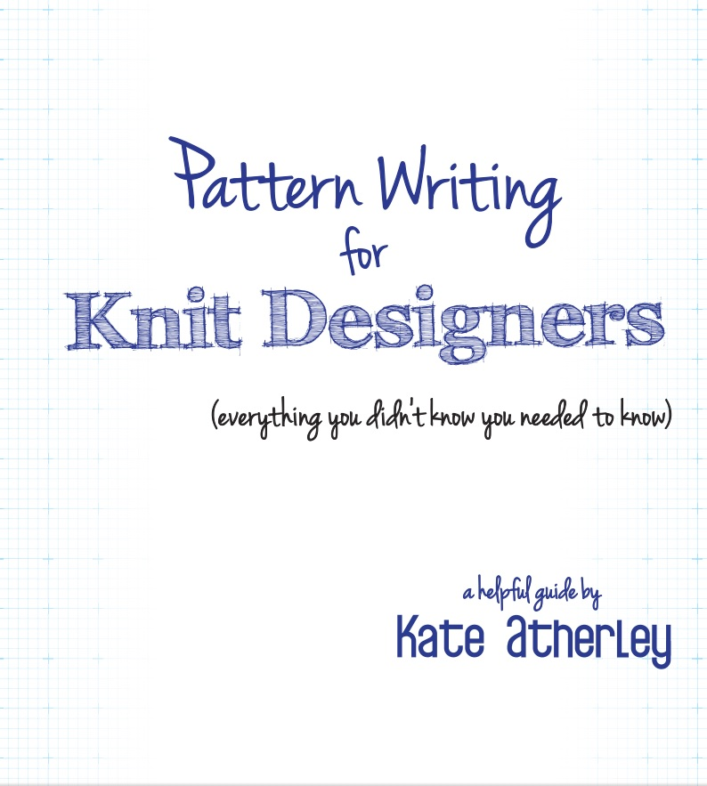 Pattern Writing for Knit Designers