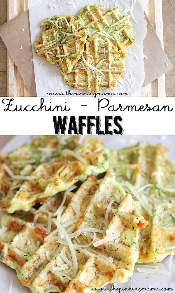 Pin Ups: Zucchini Waffles   knittedbliss.com