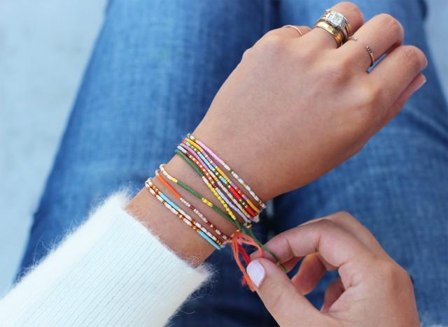 Pin Up: MOrse Code Bracelets DIY | knittedbliss.copm