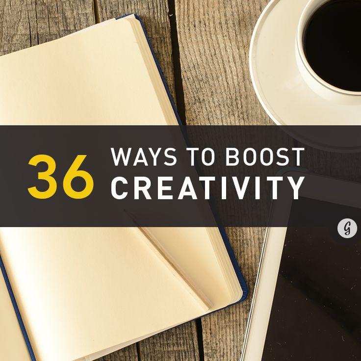 Pin Ups: Boost Creativity | knittedbliss.com