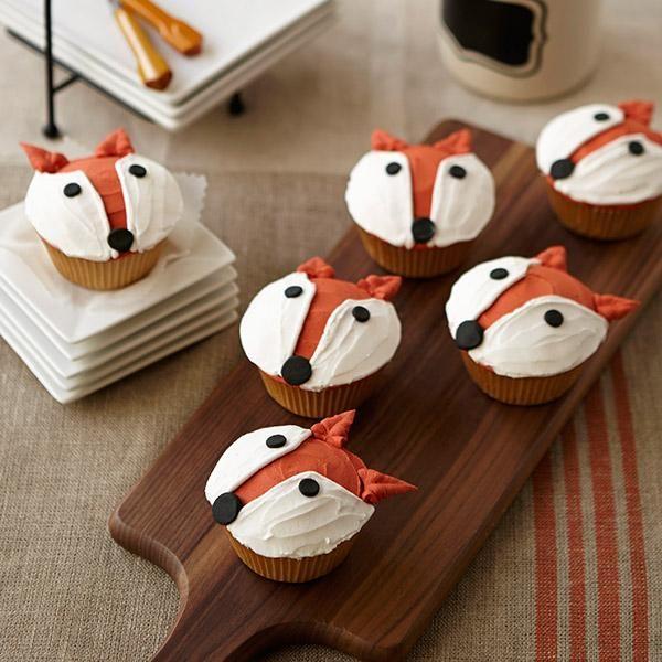 Pin Ups : Fox Cupcakes | knittedbliss.com