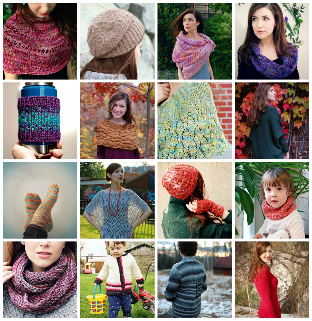 2014 Knits Collage| knittedbliss.com