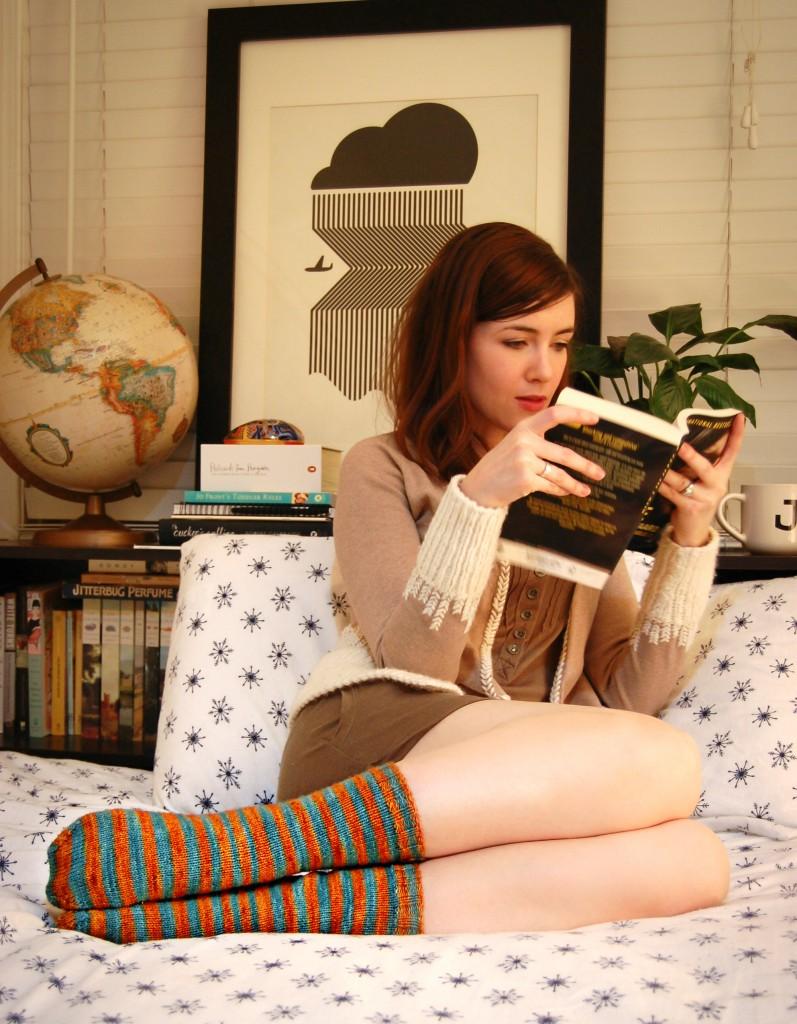 Striped Socks | knittedbliss.com