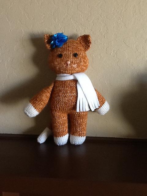 Modification Monday:  Orange Tabby | knittedbliss.com