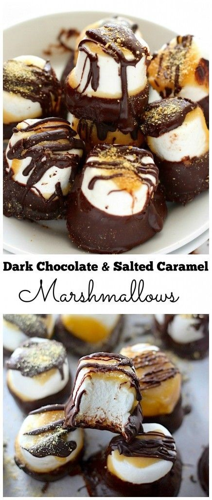 Pin Ups: Choclate and salted caramel marshmallows | knittedbliss.com