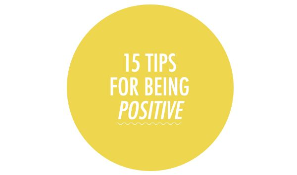 Pin Ups: 15 Tips for Being Positive | knittedbliss.com