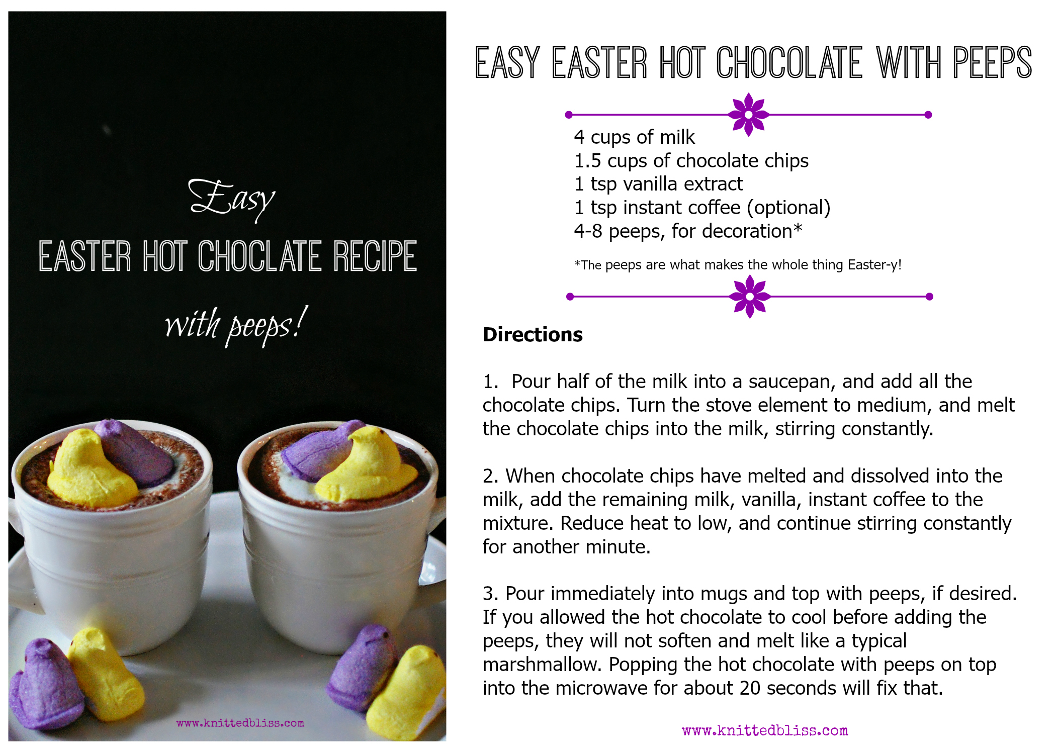 Easy easter chocolate recipes