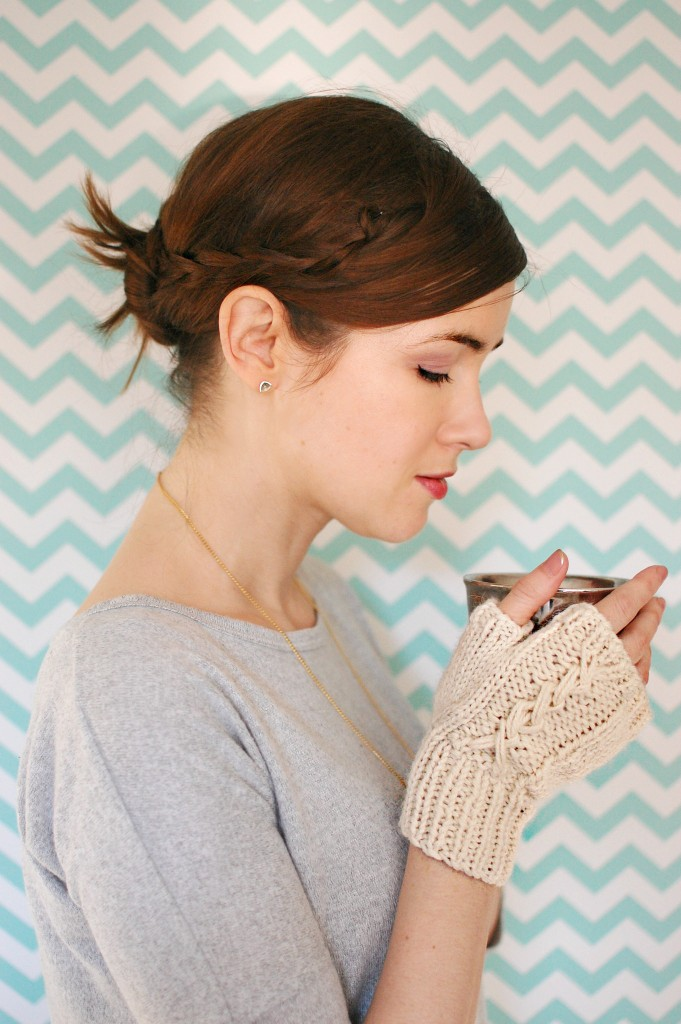 Finished Knit: Wool and the Gang Josie Gloves | knittedbliss.com