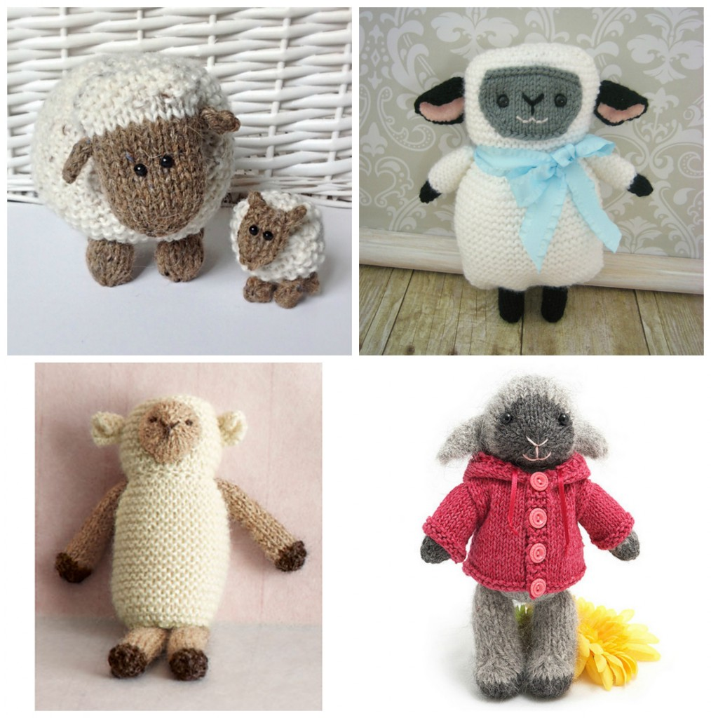 Easter Knitting Ideas and Patterns: Bunnies, Chicks, Lambs and More - Knitted...