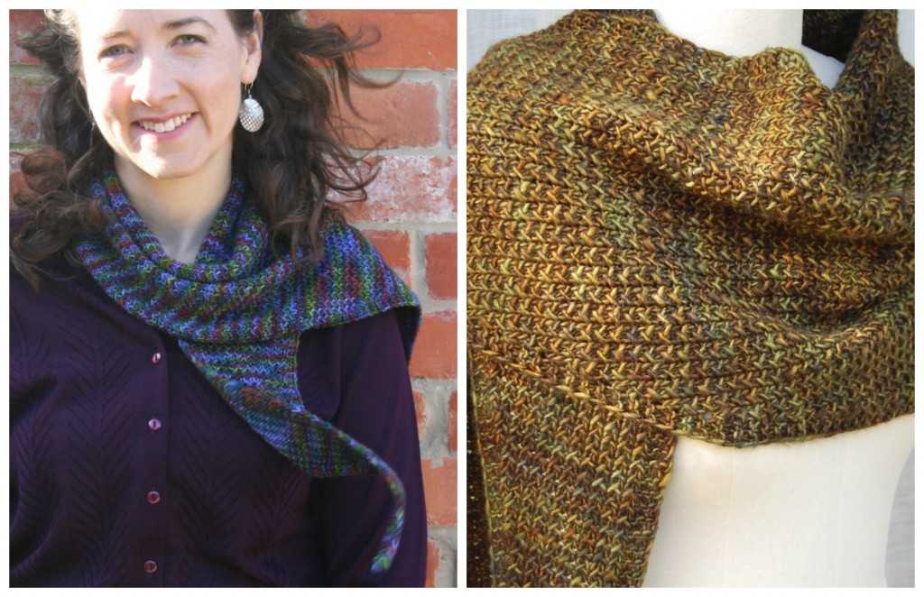INpiration Knits: Painted and fresco Shawls | knittedbliss.com