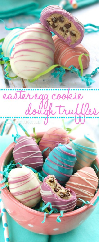 Pin Ups: East Egg Cookie Dough Truffles | knittedbliss.com