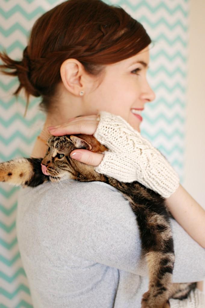 Josie Glove Outtakes | knittedbliss.com