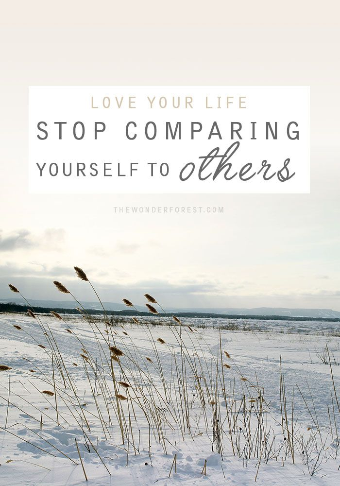 Pin Ups: Stop Comparing Yourself | knittedbliss.com