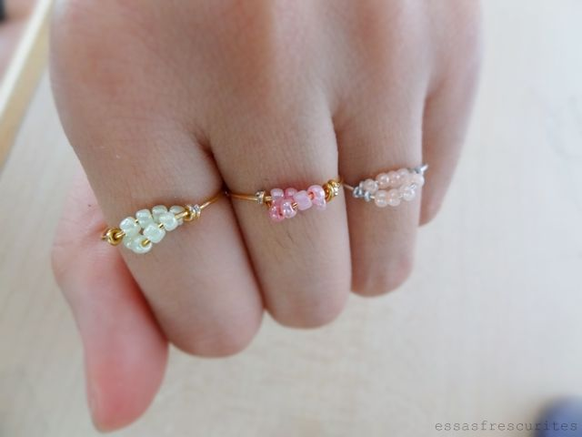 Pin Ups: DIY Wire Rings | knittedbliss.com