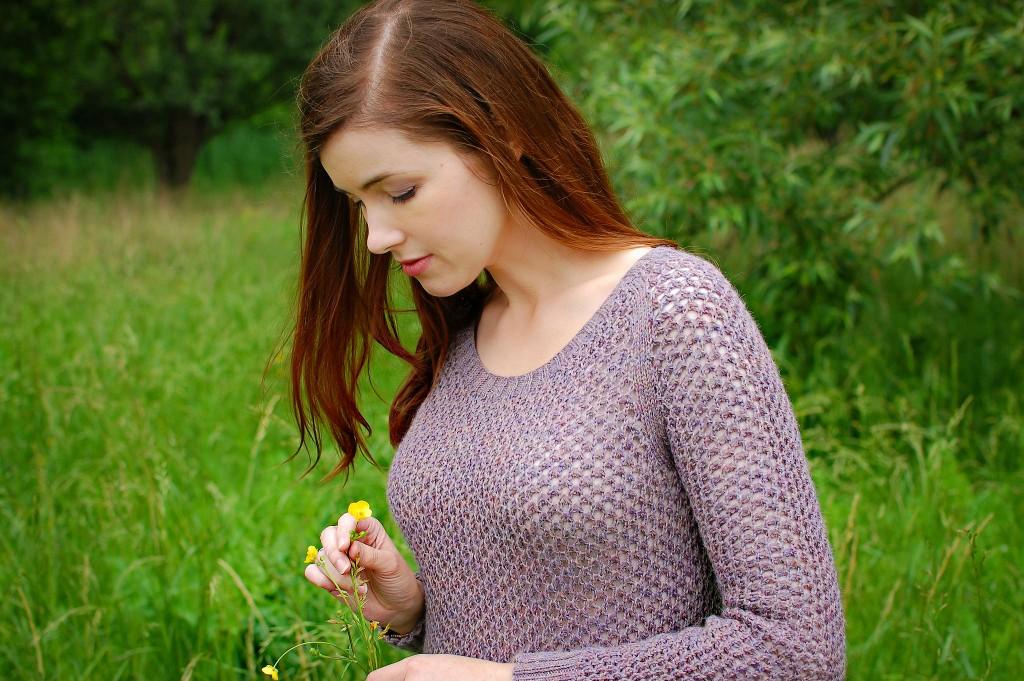 Lavender Firefly | knittedbliss.com