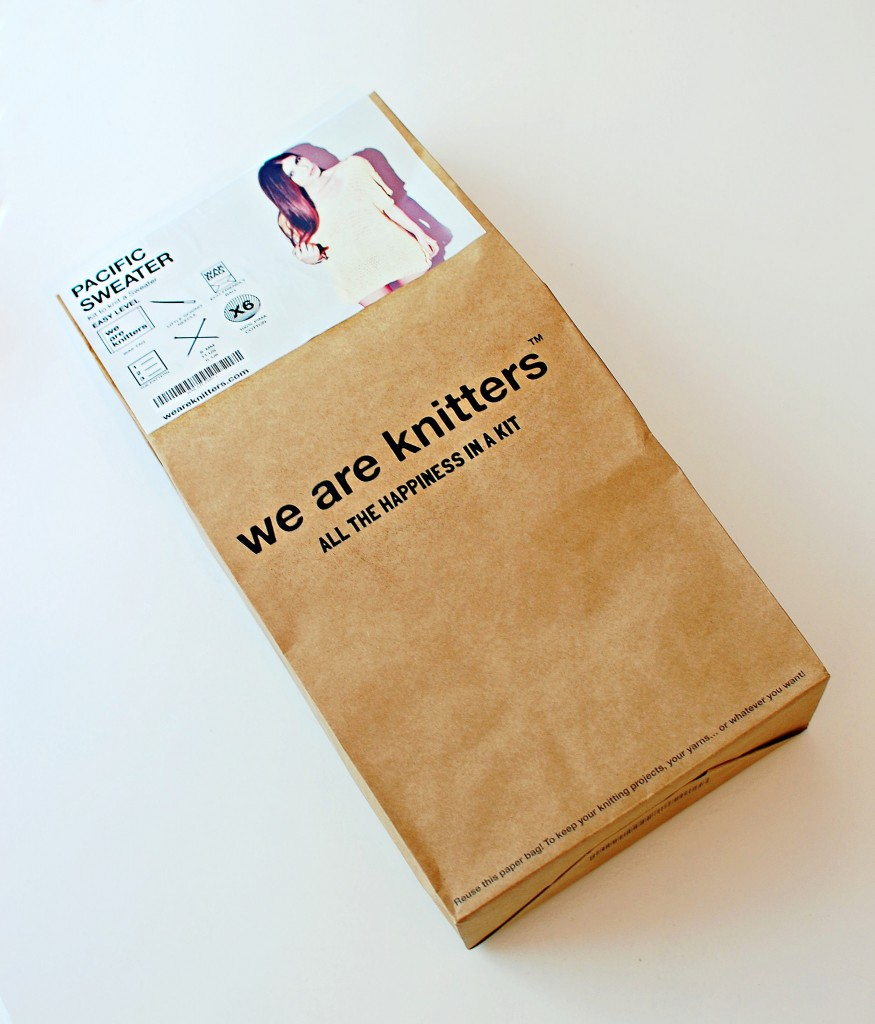 We Are Knitters: PAcific Sweater Kit | knittedbliss.com