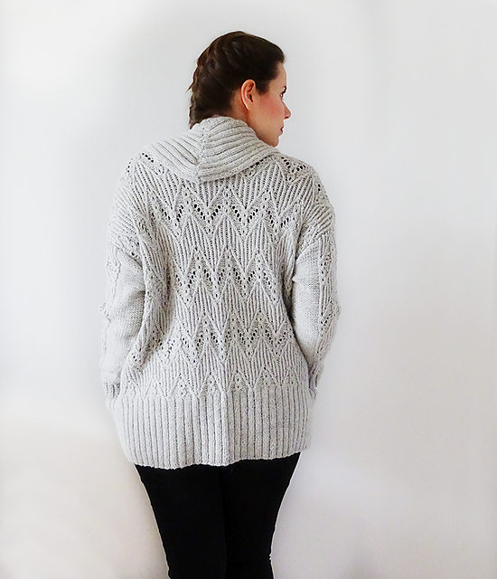 Modification Monday: Exeter Cardigan | knittedbliss.com