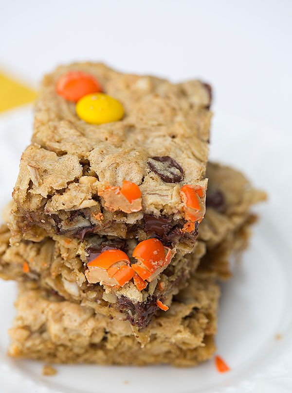 Pin Ups and Link Love: Flourless Cookie Bars | knittedbliss.com