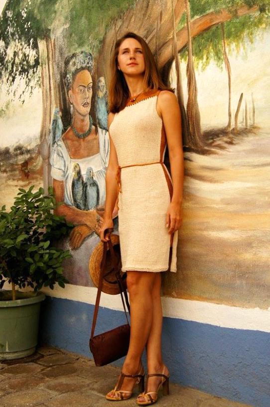 Modification Monday: Soho Dress |knittedbliss.com