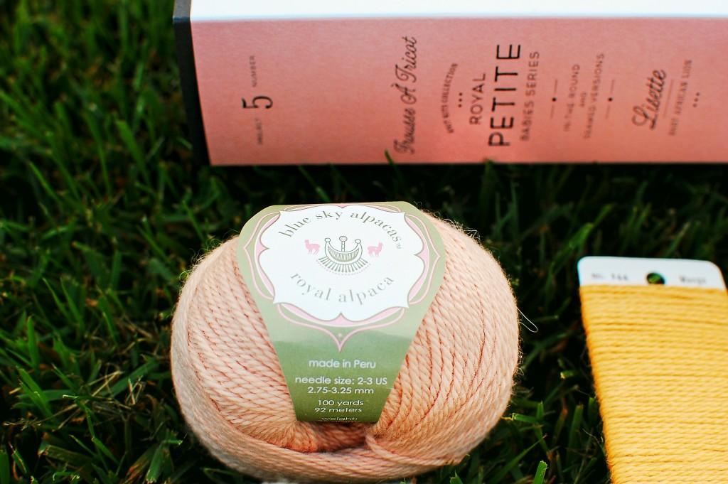 Blue Sky Alpacas Lisette Kit | knittedbliss.com