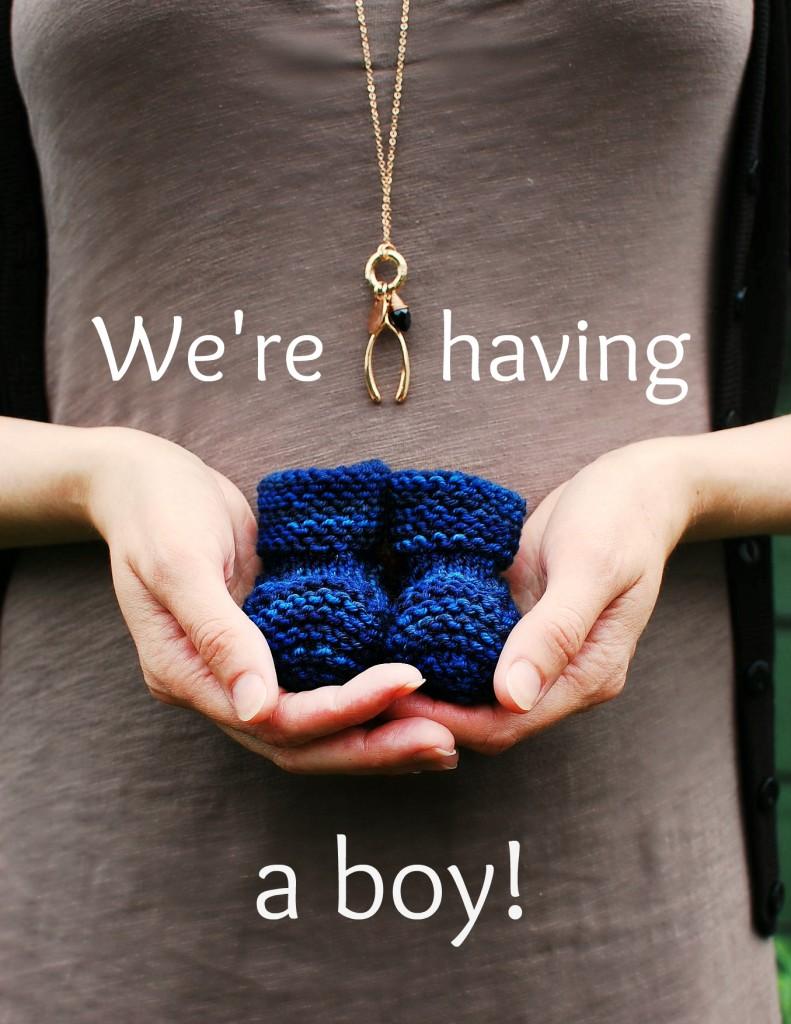 Gender Reveal| knittedbliss.com