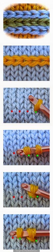 Pin Ups and Link Love: Faux Latvian Braid  knittedbliss.com