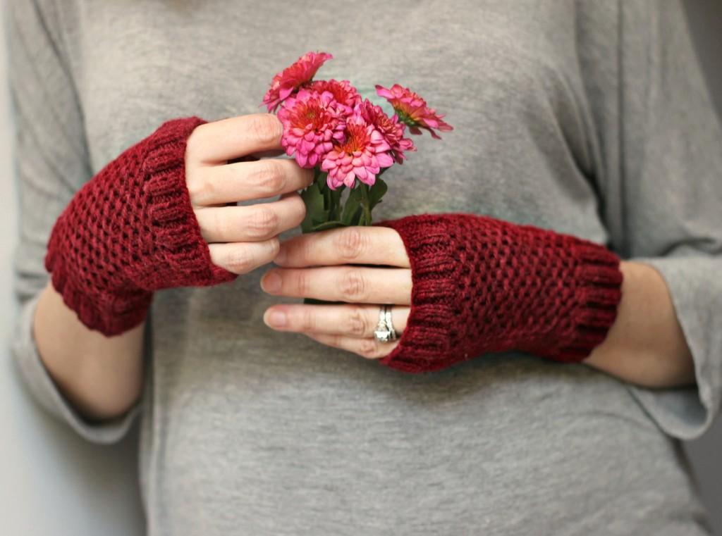 Finished Knit: Fergus Mitts | knittedbliss.com